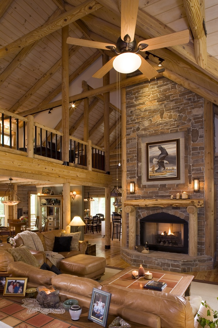 77 best log - home - design - and - decor images on pinterest