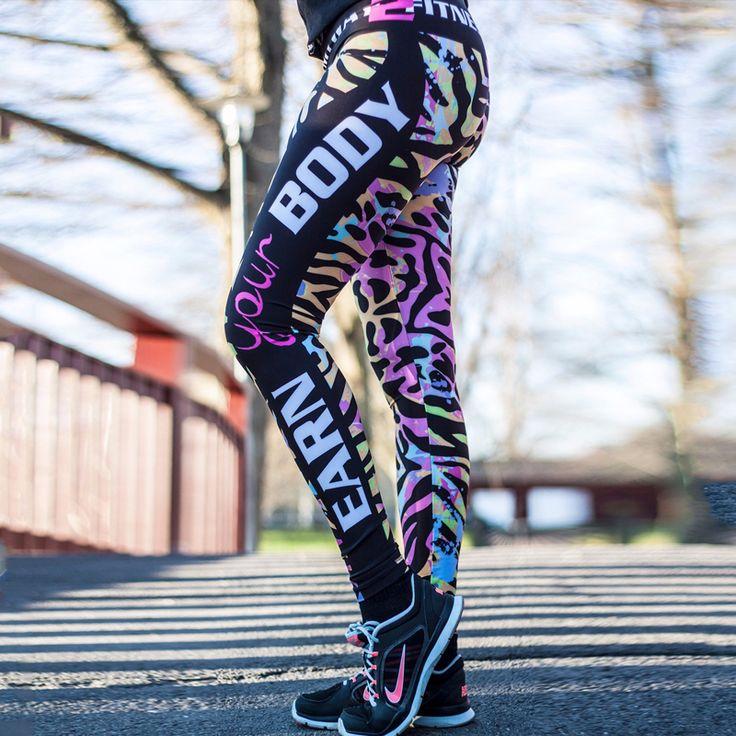 Sportlegging MyWay2Fitness - Mayhem & Destruction. Bekijk alle bodybuilding en fitnesskleding voor vrouwen in de webshop!