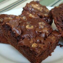 Veganistische brownies @ allrecipes.nl