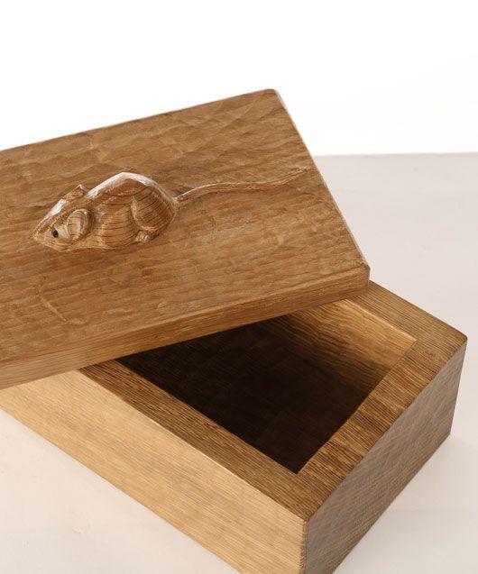 """GS130 Solid Oak Trinket Box 7½""""W"""