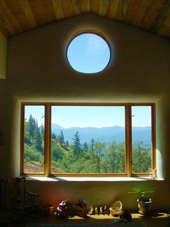 M: rond raam