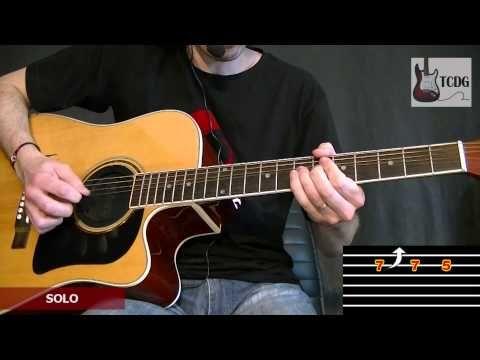 COME AS YOU ARE (NIRVANA) VIDEO TABLATURA EN GUITARRA ACUSTICA /APRENDER COMO TOCAR GUITARRA TCDG - YouTube