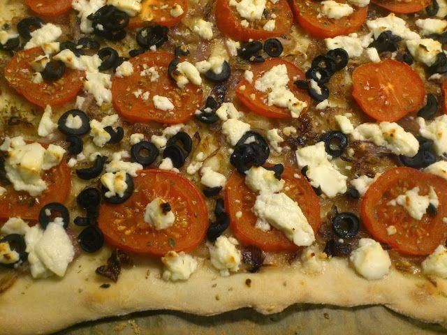 torilds mat: GRESK PIZZA