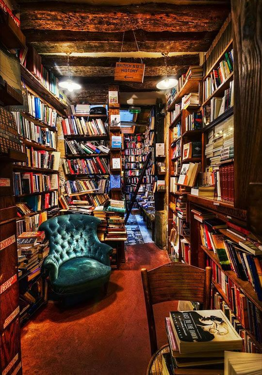 If I had this home library, I'd never leave the room...
