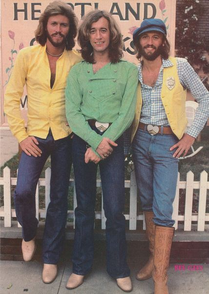 Bee Gees (1958-2003)  Barry- 09/01/1946, Robin- 12/22/1949. Died- 5/20/2012  Maurice- 12/22/1949.  Died-1/12/2003