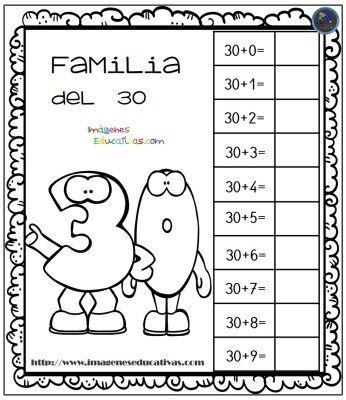 Aprendemos la familia de los números (3) - Imagenes Educativas