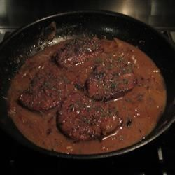 President Ford's Braised Eye of Round Steak …. is what's for dinner! | And That's All She Wrote!