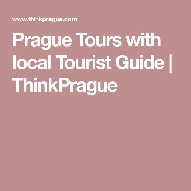 Prague Tours with local Tourist Guide | ThinkPrague