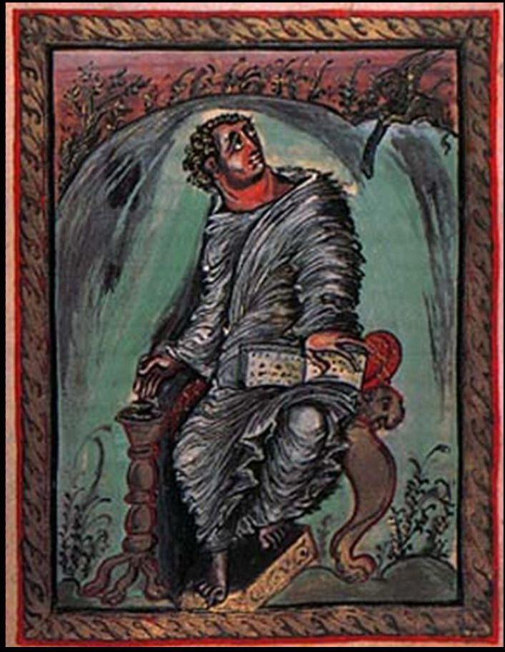 evangeliario de ebbon (san marcos)