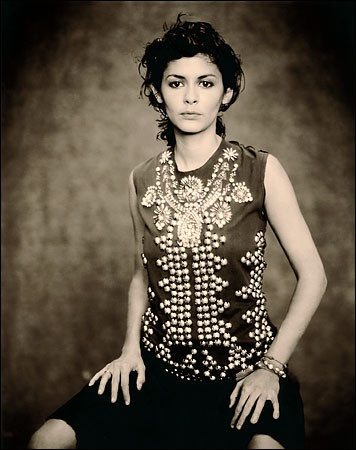 audrey tautou by paolo roversi