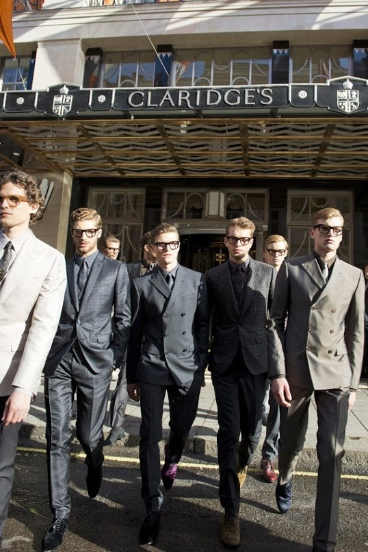 Dolce & Gabbana: Summer 2014 tailoring collection.