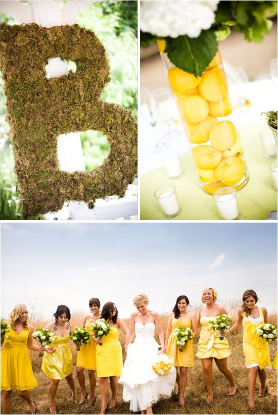 158 best Yellow and Grey Wedding Ideas images on Pinterest | Grey ...