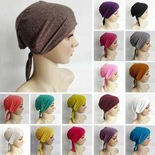 Gerdirilebilir Türban Underscarf Kap Şal Müslüman İslim Eşarp Iç Headband Hicap Caps Şapkalar Şapka İslam Başkanı Giyim Şapka(China (Mainland))