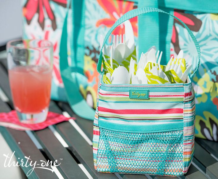 Stash your silverware in a Littles Carry-All at your next BBQ.