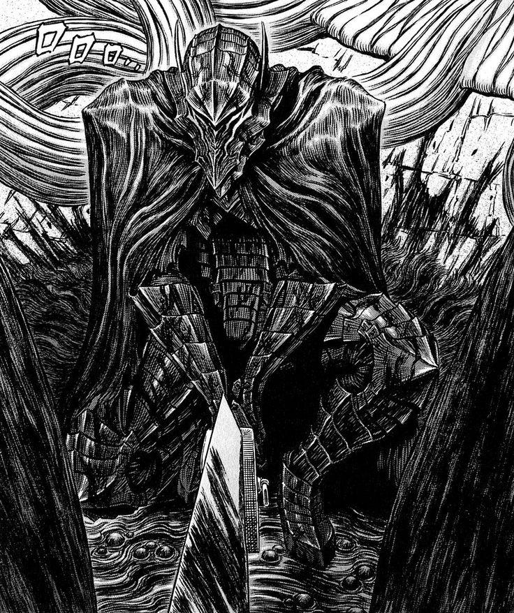 Berserk - Guts In The Berserk Armor