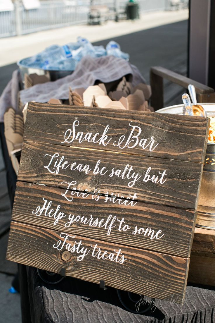 wedding locations in southern californiinexpensive%0A Snack bar at wedding