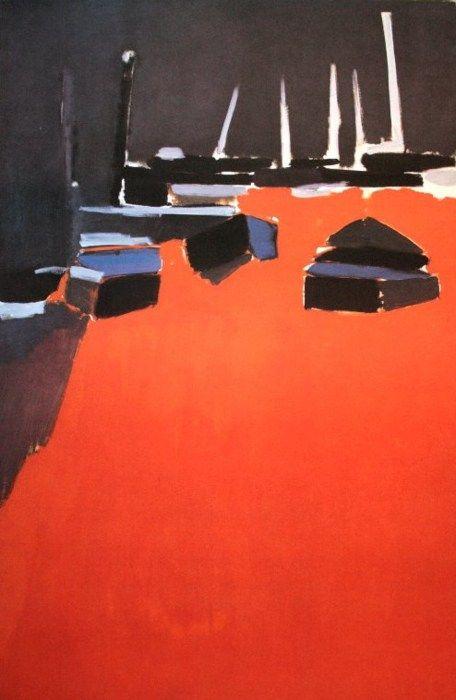 roidesmeteores:  Nicolas de Stael (1914-1955) Martigues