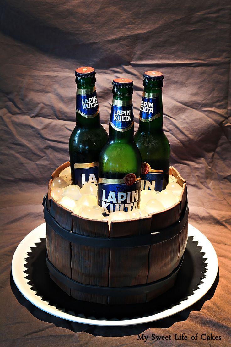 Lapin Kulta / beer cake
