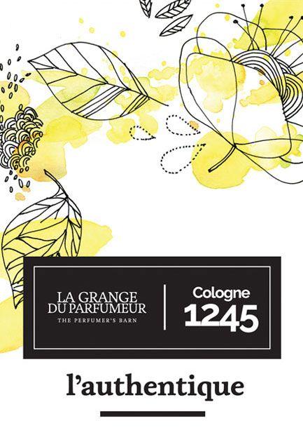 lagrangeduparfumeur.com L'authentique - Cologne 1245 [Fleur d'oranger & Bois d'agar]  #cologne #parfum #naturalbeauty #faitauquebec #parfumerie #cecilehudrisier