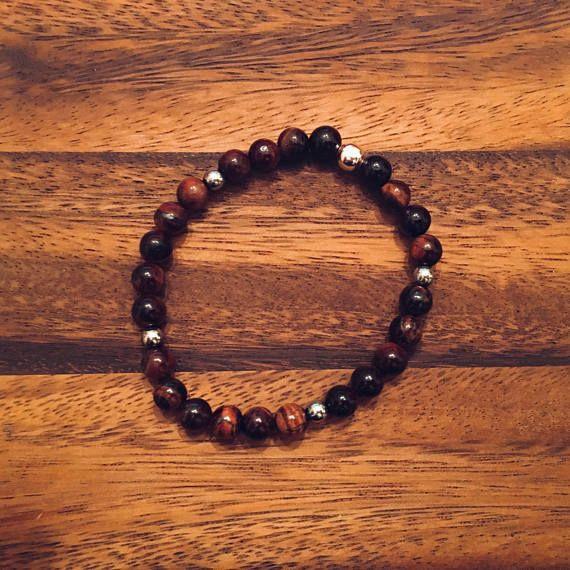 Tigers Eye Bracelet / Beaded Bracelets / Bead Bracelet /