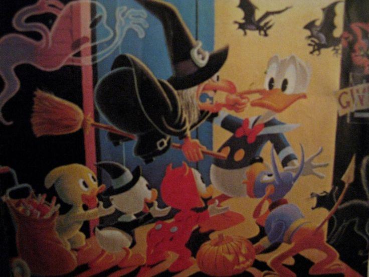 Halloweenyön kummajaiset by Carl Barks