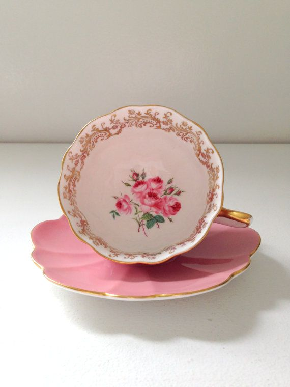 Antique Shelley English Fine Bone China by MariasFarmhouse on Etsy, $125.00