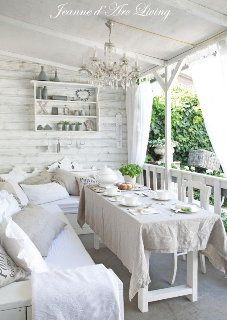 Best 25 shabby chic porch ideas on pinterest country for Decorating apartment porch
