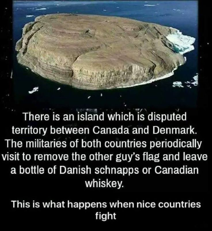 "I can just imagine an officer handing out duties for the day and getting to the end of the list, ""Aaannd has anyone checked the island recently? No? Alright, go do that. Don't forget the whiskey."""