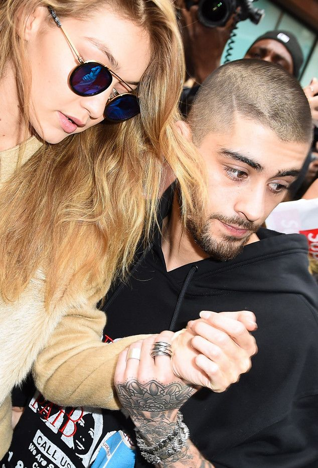 """""""Zayn Malik Protective of Gigi Hadid at Album Release Party Packed With Fans"""" - Exlusive Enews"""