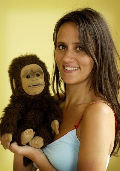 Nina Conti and Monkey.  She's GREAT!