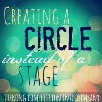 Creating a circle instead of a stage