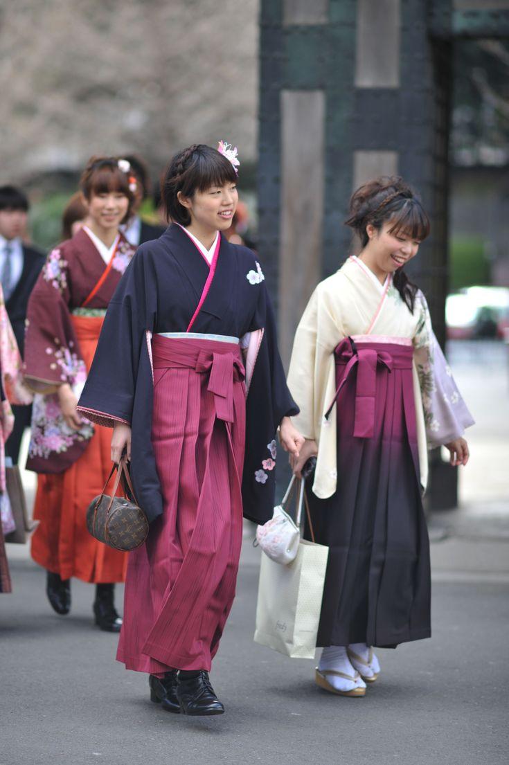 student kimono | Parade of Kimono – University Graduation | Tokyobling's Blog