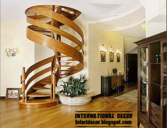 On Inspirational Wooden Staircase Design Ideas With Best Concept And  Beautiful Decor Wooden Spiral Staircase Ideas