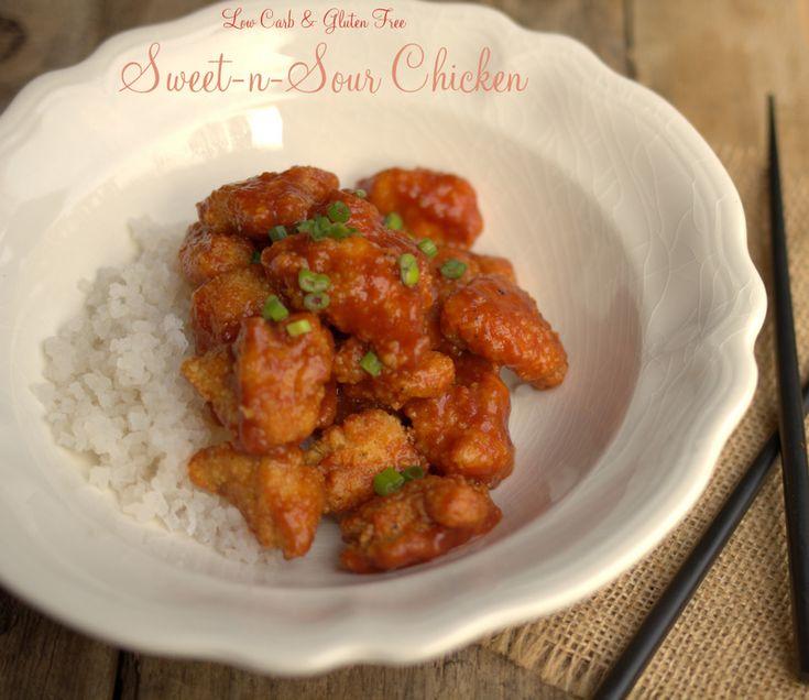 Maria Mind Body Health | Sweet-n-Sour Chicken, low carb sweet-n-sour chicken