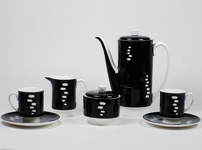 Serwis do kawy London Wzór z roku: 1962 Projektant: Wincenty Potacki
