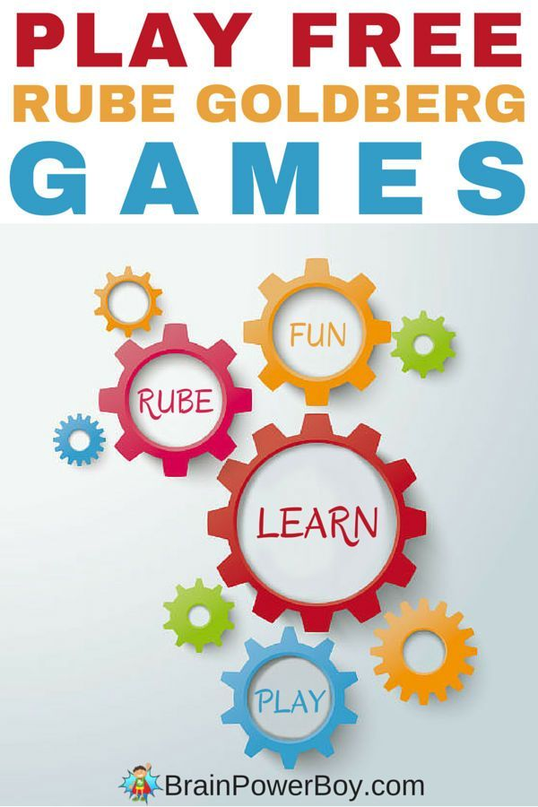 Play these free online Rube Goldberg Games for a fun learning experience that will give your brain a workout! Links to other Rube Goldberg ideas included.