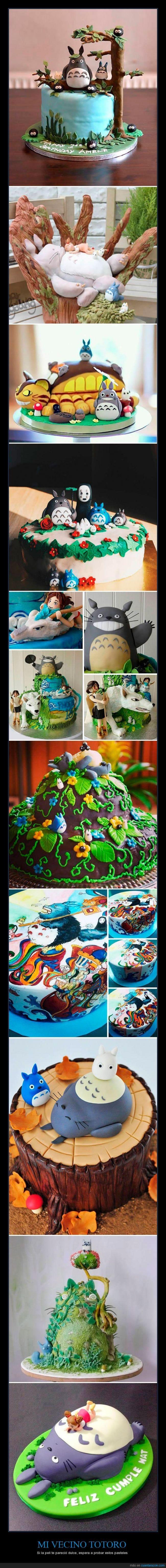 MI VECINO TOTORO - Si la peli te pareció dulce, espera a probar estos pasteles