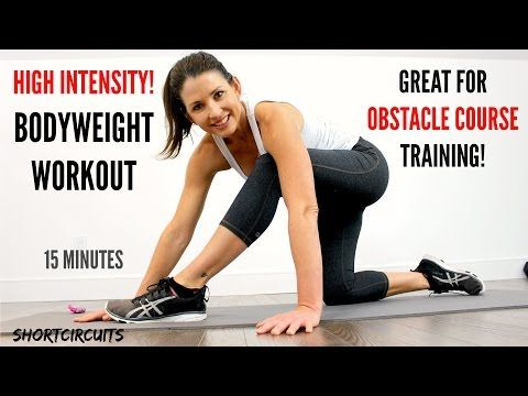 EXTREME BODYWEIGHT WORKOUT - GREAT FOR OBSTACLE RACE TRAINING! - YouTube