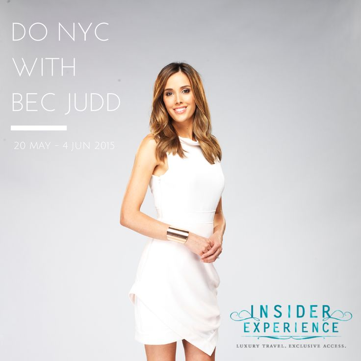 Go to New York with Rebecca Judd #InsiderExperience New York City #NewYork #NYC #Manhattan #Travel #Luxury Travel