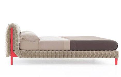 Ruche Bed by Inge Sempe