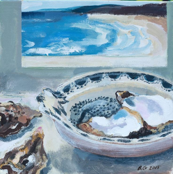 'Oysters by the Sea' by Brita Granström