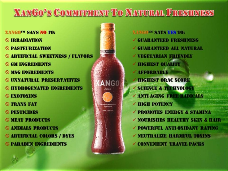 14 best images about Xango slide on Pinterest | Fruit ...