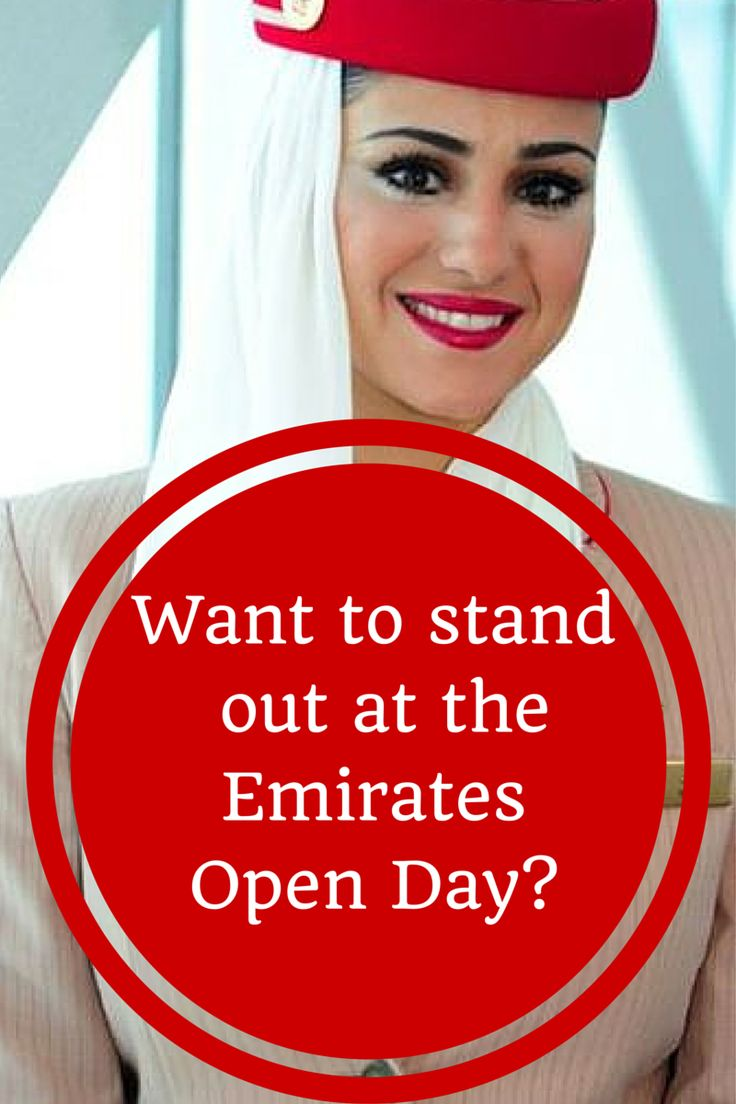 Want to get loads of tips on how to impress at the Emirates Open Day. Then check this out...