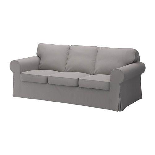 EKTORP Bezug 3er Sofa IKEA Leicht Sauber Zu Halten   Der Abnehmbare Bezug  Kann Chemisch