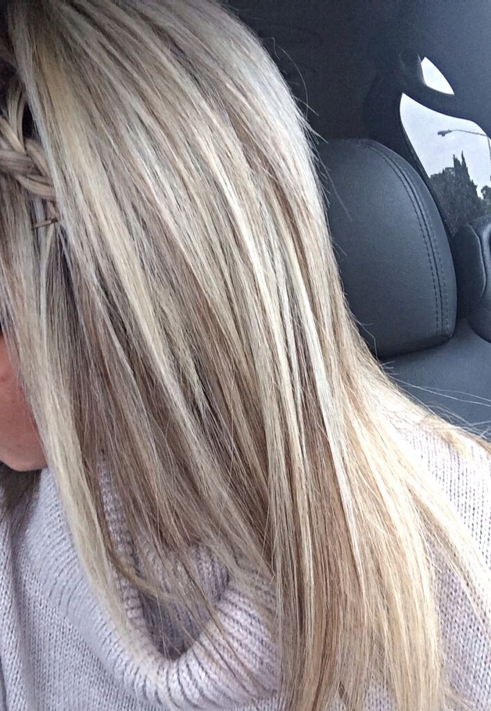 Perfect shades for blonde hair, blonde highlights and lowlights