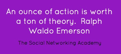 An ounce of action is worth a ton of theory....