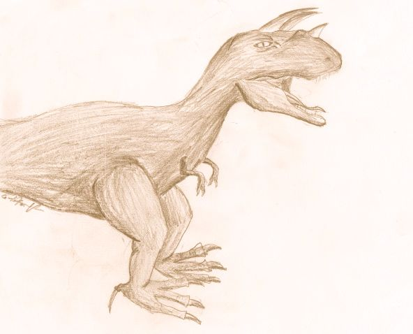 My Dinosaur #ByGabrielFargher