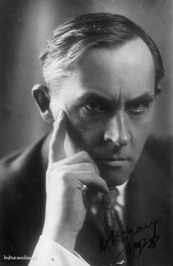 Stanislaw Ignacy Witkiewicz, 1885-1939, Poland. Key works:  Metaphysics of a Two-Headed Calf (1921); The Water Hen (1921); The Cuttlefish (1922); The Madman and the Nun (1923); The Crazy Locomotive (1923); The Mother (1924); The Beelzebub Sonata (1925); The Shoemakers (1934).