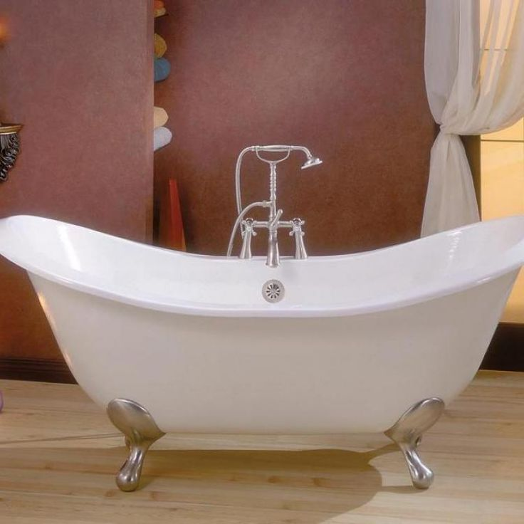 The Regency Cast Iron Clawfoot Tub Is Elegant And Comfortable