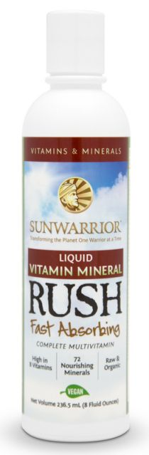 I have 5 bottles of Sunwarrior's Brand New RAW VEGAN Liquid Vitamin Mineral Rush to Giveaway!